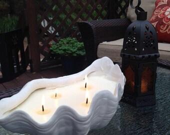 Half Shell Bug-Away Candle