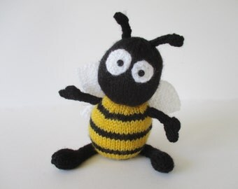 Bumble the Bee toy knitting patterns