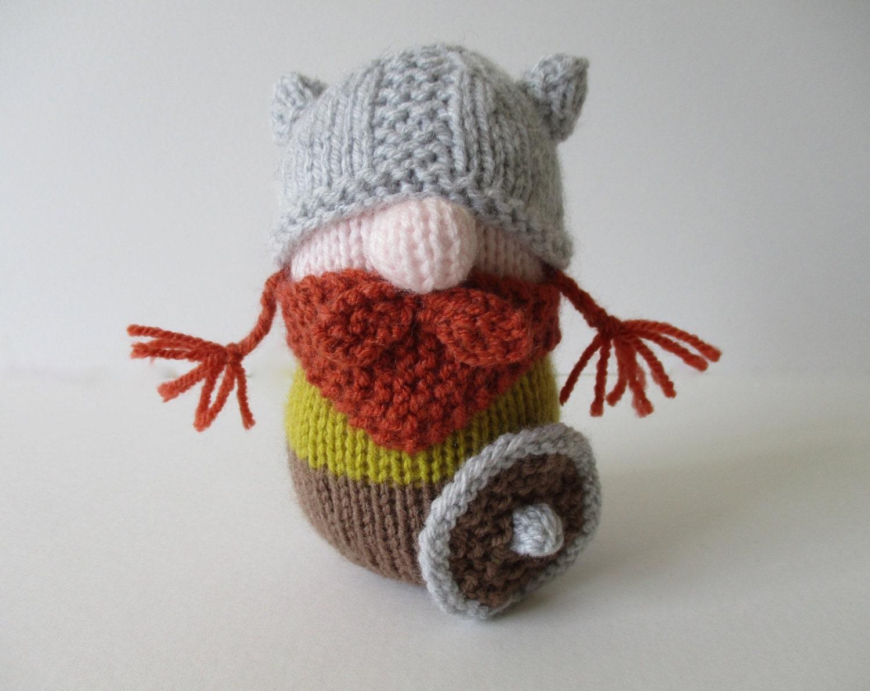 Knitting Toy Patterns : Erik the Viking toy knitting patterns