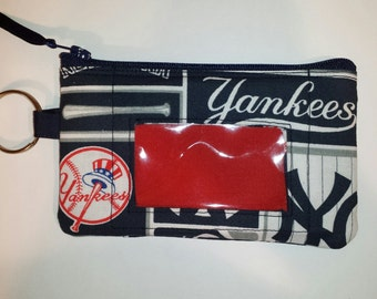 New York YANKEES  Zip ID pouch