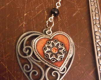 Gothic Heart Bookmark