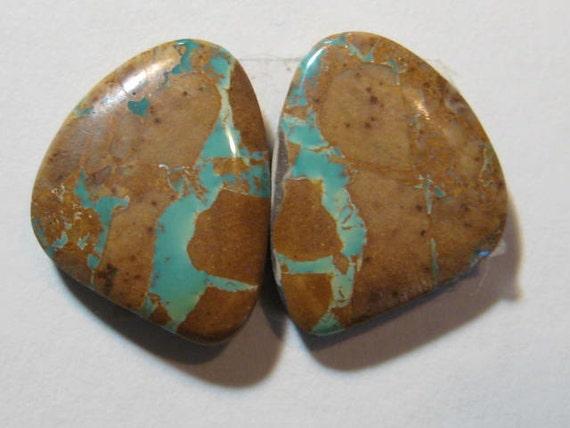 Royston ribbon turquoise natural turquoise earring for Royston ribbon turquoise jewelry