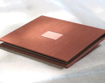 Photo Album Wallet in Rust Orange