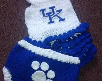 Crochet UK dress