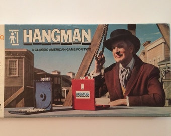 Hangman Game with Vincent Price on the cover 1976