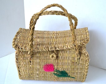 Vintage Flower Picking/Gathering Bag