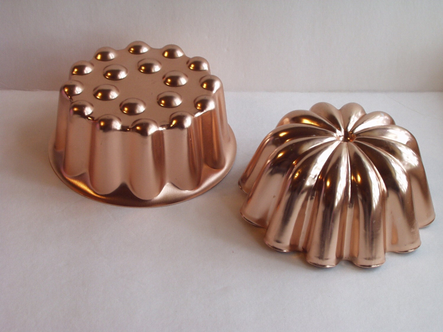 how to use copper jello molds
