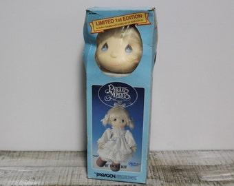 "1985 Precious Moments 18"" Doll Kit, New in Original Box"
