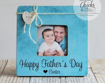 Happy Father's Day Picture Frame, Fathers Day Picture Frame, Personalized Frame, Personalized Father's Day Gift