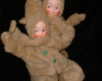Antique Dolls - Cloth Dolls - Baby Dolls - Boudouir Dolls - 40s 50s - Movable Dolls -