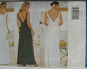 Butterick 5419 Sewing Pattern Fast & Easy Misses' Elegant Dress, Evening Gown, Special Occasion UNCUT Sizes 12-14-16