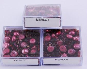 Merlot Bead Box
