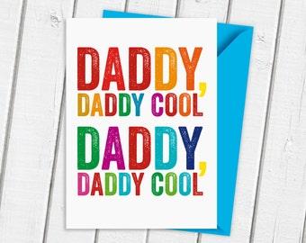Daddy Birthday Card   Father's Day Card   Birthday Card for Dad   Card For Daddy   Dad Birthday Card   Cool Dad Card   Super Cool Dad Card
