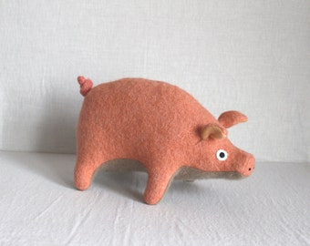Spring Pig Toy