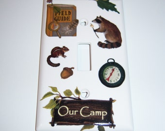 Our Camp Single Lightswitch Cover