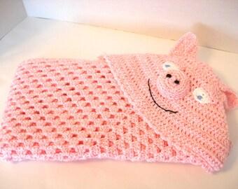 Pig Baby Blanket Etsy