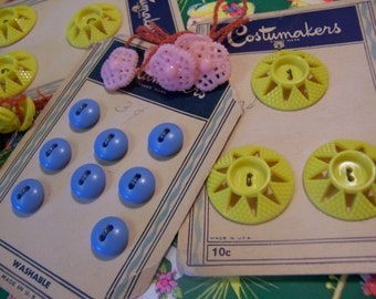 vintage charming buttons
