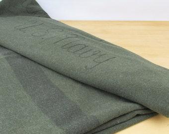 WWII U.S. Navy Hospital Blanket - Wool