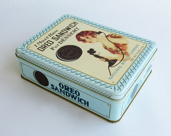 Oreo Cookie Decorative Tin - Limited Edition Reproduction