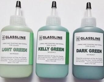 Kelly green glasses Etsy