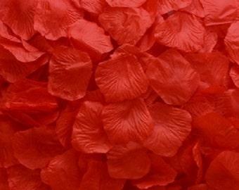 Silk Rose Petals RED 500 Wedding Decoration Flower Girl Reception Table
