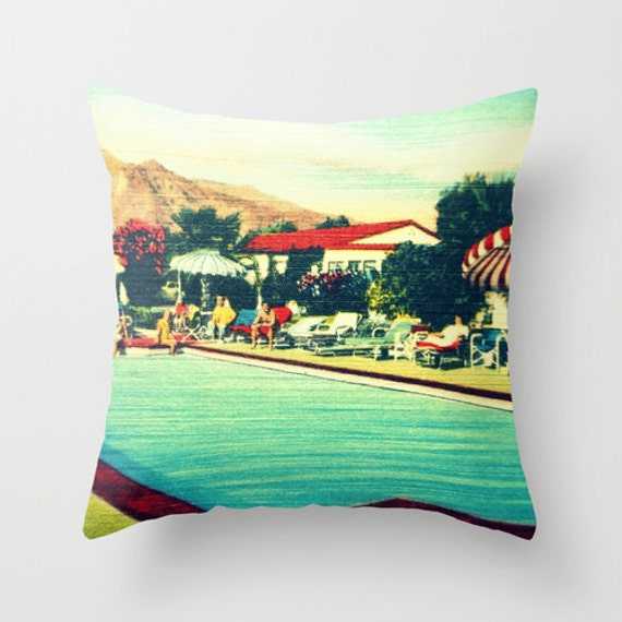 Mid Century Modern Pillow Covers : Items similar to Hotel Pillow Cover, Mid Century Modern Pillow Cover, Hotel Art Gift For Her ...