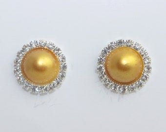 Pearl Belle Earrings (Beauty and the Beast)
