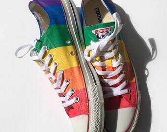 Marriage Equality Gay Pride Custom Converse Shoes