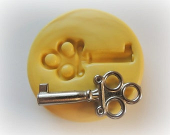 Key Mold Fondant Clay Resin Key Mold Resin Silicone Mould