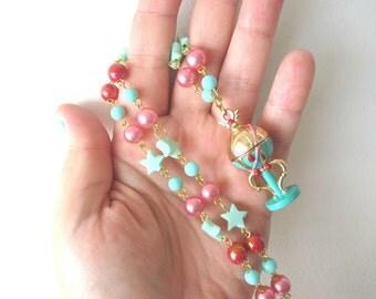 Sailor Moon Necklace - Stallion Reve - PEGASUS necklace