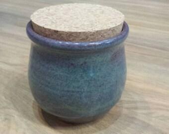 Stash jar with cork