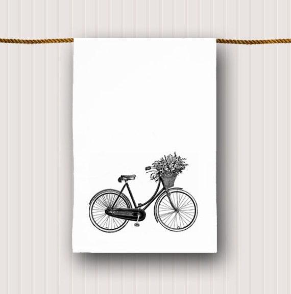 Bicycle Kitchen: Vintage Bicycle Tea Towel Bicycle Kitchen Towel