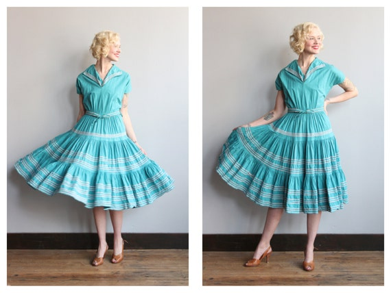 Vintage 50s Dress on Etsy