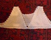 Vintage Hand Crochet Bodice Camisole Top