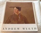 Vintage ANDREW WYETH Softbound Book 1966 Pennsylvania Academy of Fine Arts Photographs and Art Prints