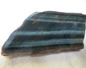 Rough Variegated  Blue Tiger Eye Slab - 1