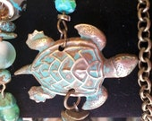 Sea Turtle Warp Bracelet