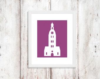 Custom Colors | Riga | Latvia | Europe | Nursery Art | Wall Art | Subway Art | Home Decor | 5x7 | 8x10 | 11x14 | 16x20