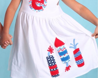 4th of July Fireworks Dress