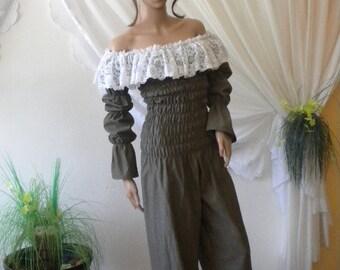 stylish and elegant ladies overalls