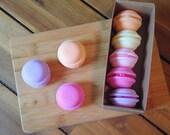 Bath Macarons - Shea Butter Bath Melts, Assorted Fragrances - Free Shipping