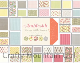 Ambleside Charm Pack by Brenda Riddle Designs for Moda