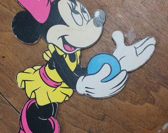 Vintage Disney Minnie Mouse Nursery Wall Decor