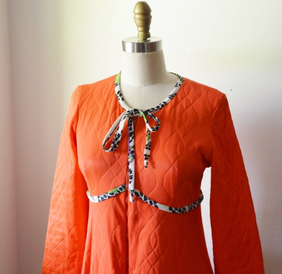 Quilted sateen robes vintage 1970