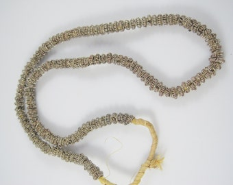 Antique Strand of Handmade Wound Wire Middle Eastern Beads