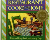 Moosewood Restaurants Cooks At Home SC 1994 Vegetarian Cookbook