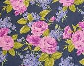 Veranda Roses in Graphite pc6677 - VERANDA - Michael Miller Fabrics -1 Yard