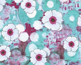 Spring All-Over in Berry (cj6611) - VIGNETTE by Laura Gunn - Michael Miller Fabrics - By the Yard