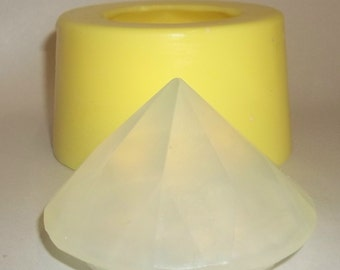 "3"" Diamond Soap & Candle Mold"