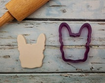 Martha the French Bulldog Cookie Cutter or Fondant Cutter and Clay Cutter